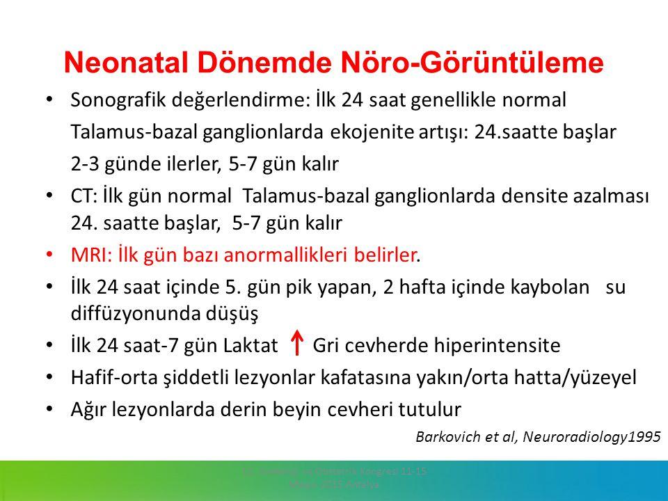 Neonatal Dönemde Nöro-Görüntüleme
