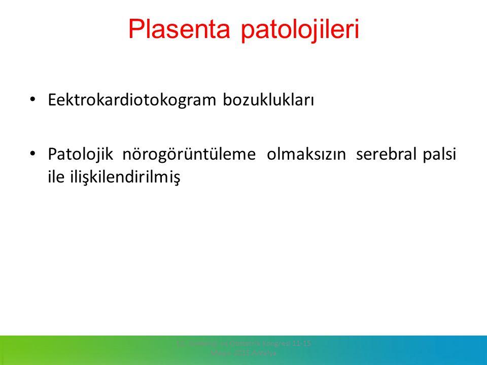 Plasenta patolojileri