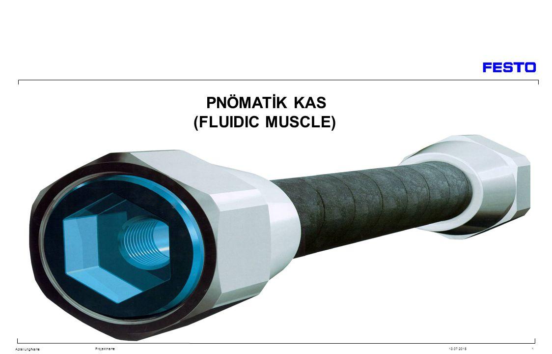 PNÖMATİK KAS (FLUIDIC MUSCLE)