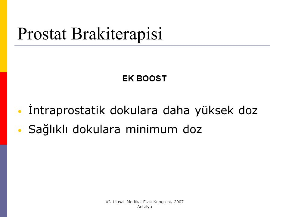 Prostat Brakiterapisi