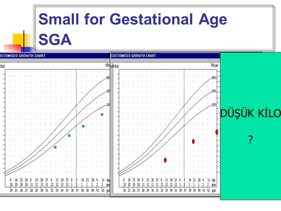 Small for Gestational Age SGA
