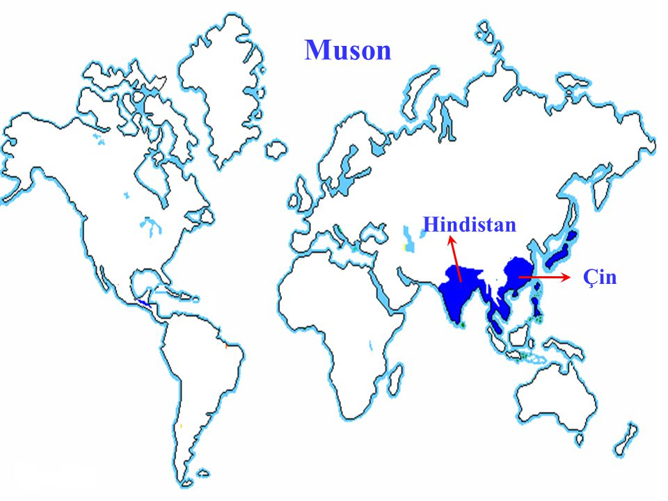 Muson Hindistan Çin