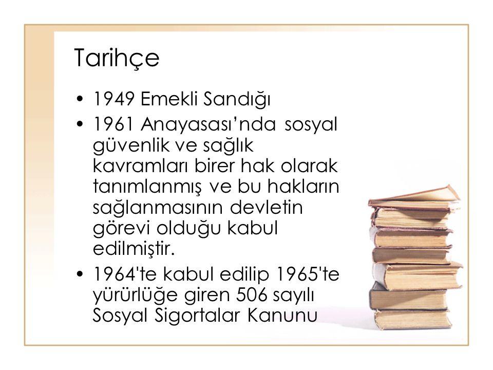 Tarihçe 1949 Emekli Sandığı