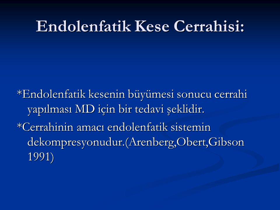 Endolenfatik Kese Cerrahisi: