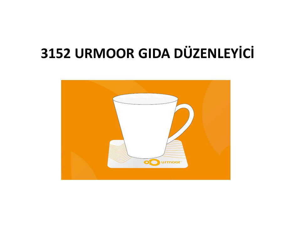 3152 URMOOR GIDA DÜZENLEYİCİ