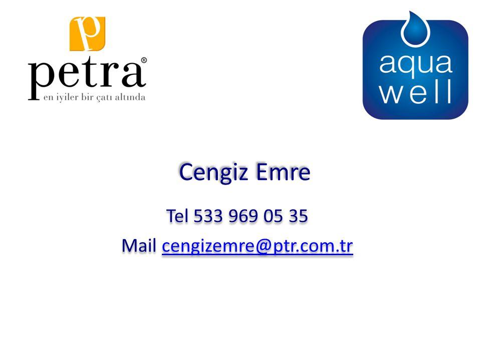 Tel 533 969 05 35 Mail cengizemre@ptr.com.tr