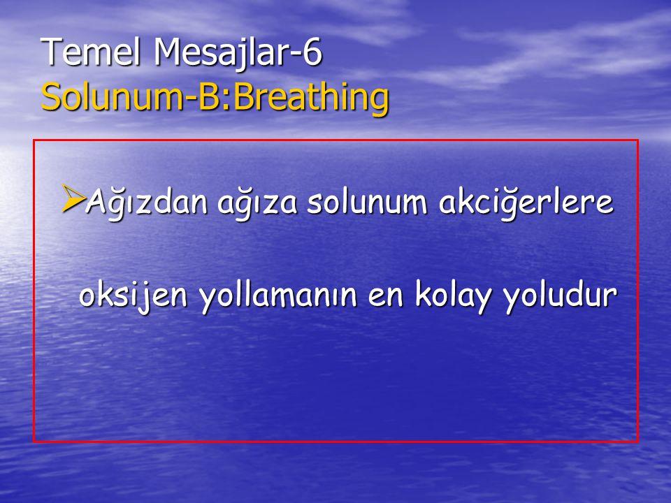 Temel Mesajlar-6 Solunum-B:Breathing