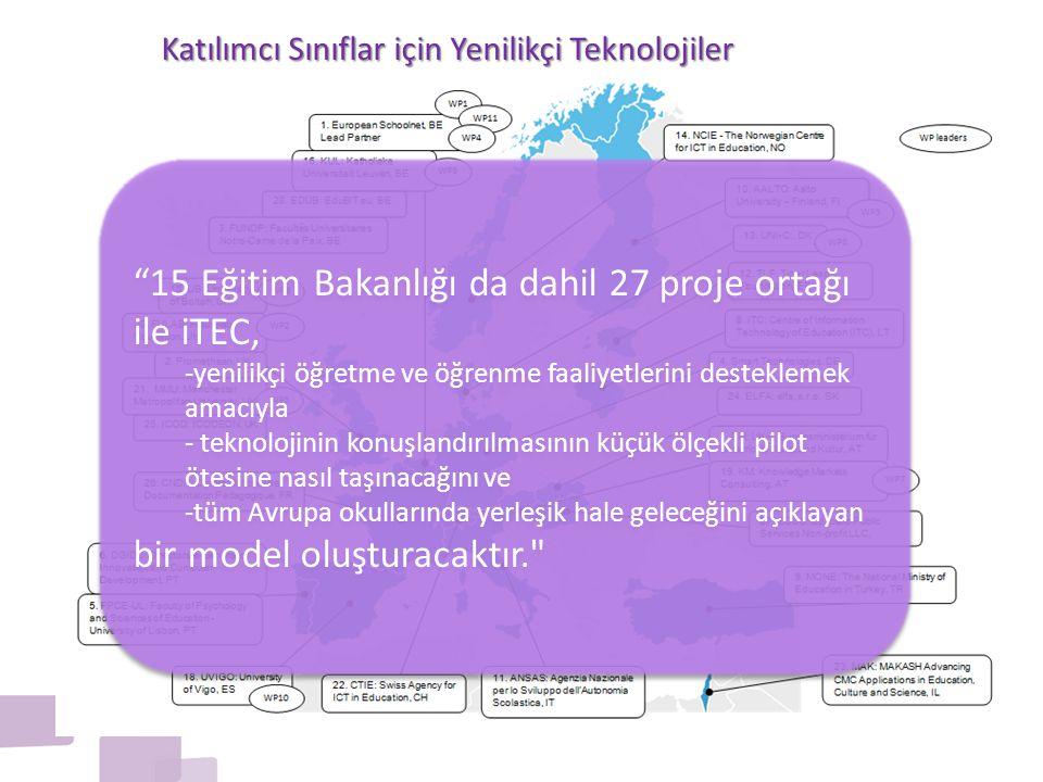 Katılımcı Sınıflar için Yenilikçi Teknolojiler