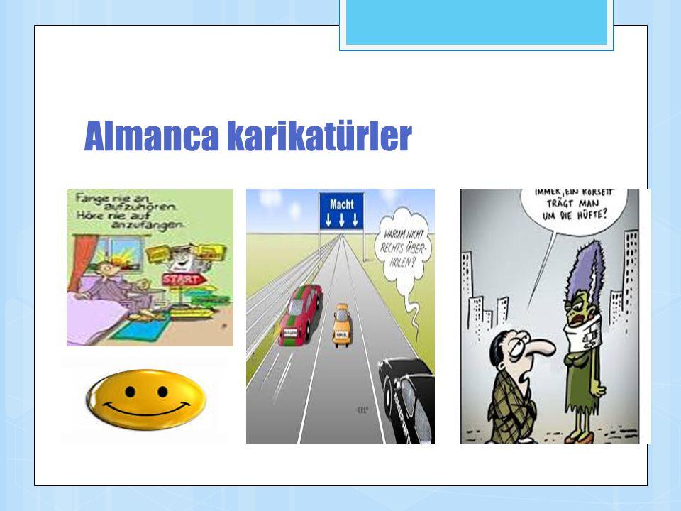 Almanca karikatürler