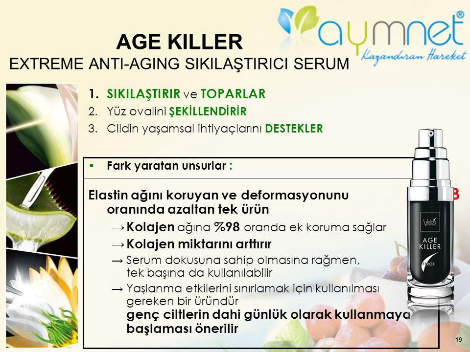 AGE KILLER EXTREME ANTI-AGING SIKILAŞTIRICI SERUM