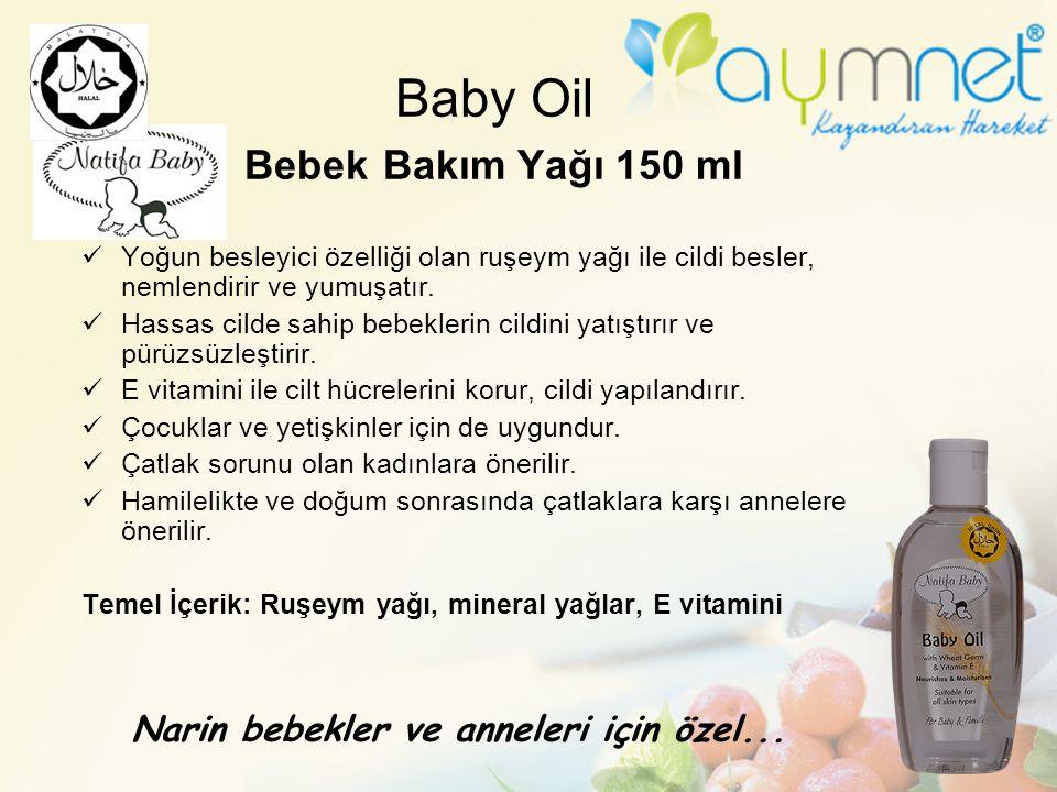 Baby Oil Bebek Bakım Yağı 150 ml
