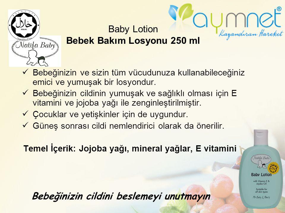 Baby Lotion Bebek Bakım Losyonu 250 ml