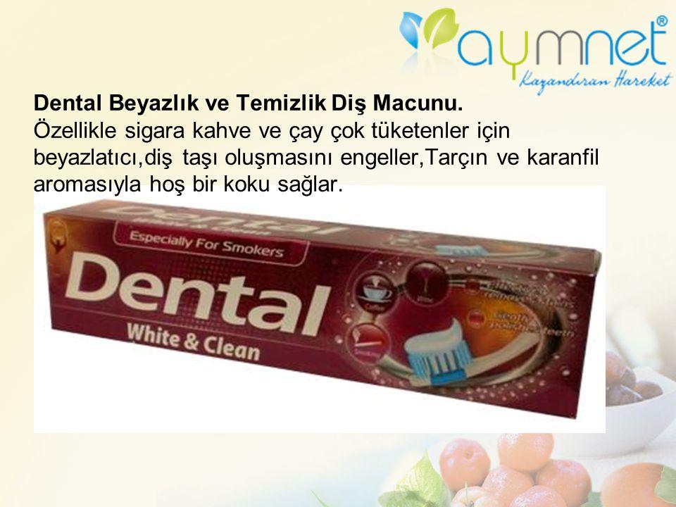Dental Beyazlık ve Temizlik Diş Macunu