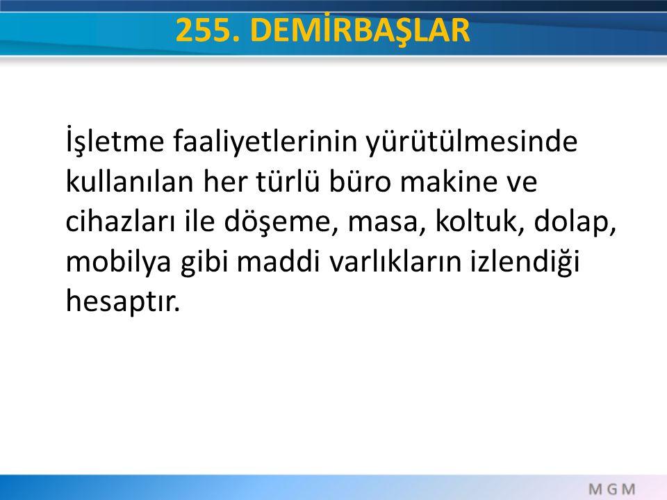 255. DEMİRBAŞLAR