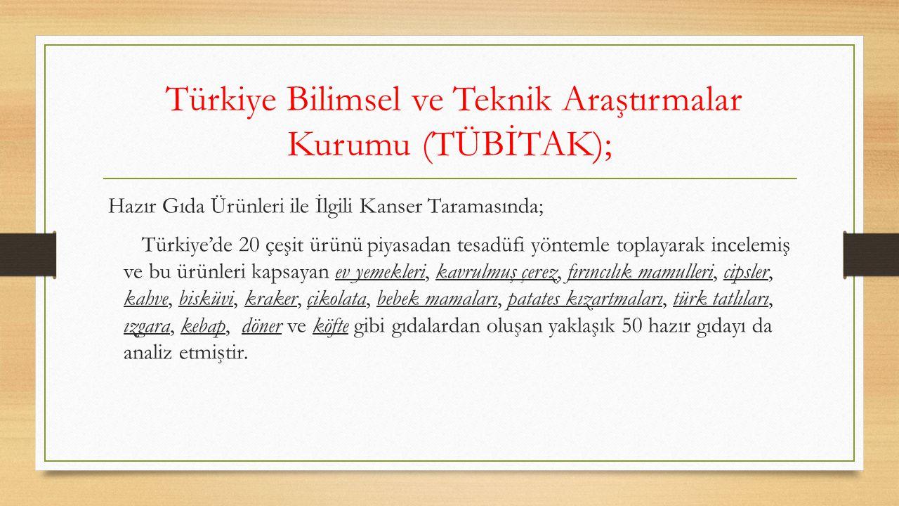 Türkiye Bilimsel ve Teknik Araştırmalar Kurumu (TÜBİTAK);