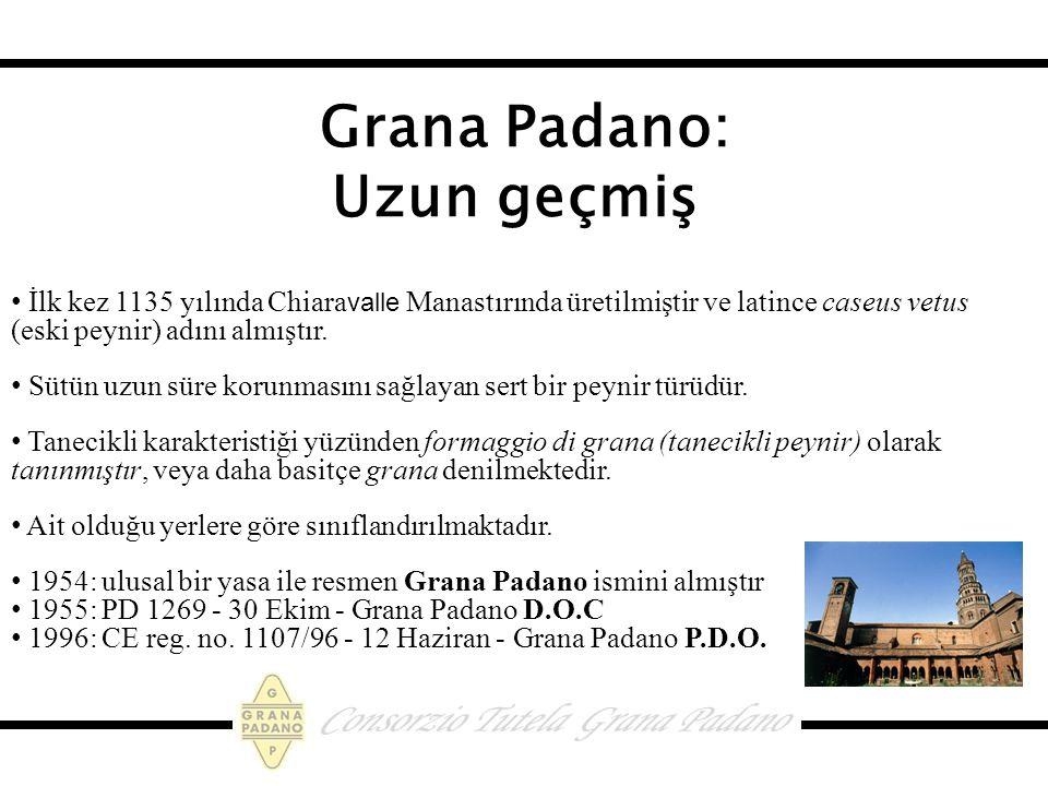 Grana Padano: Uzun geçmiş