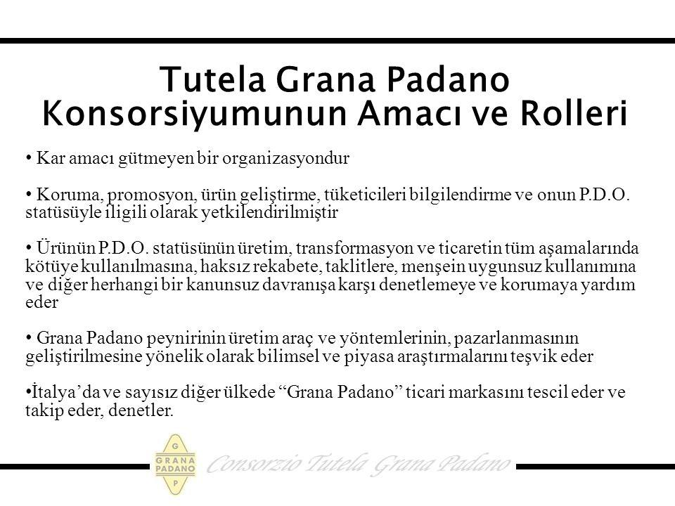 Tutela Grana Padano Konsorsiyumunun Amacı ve Rolleri