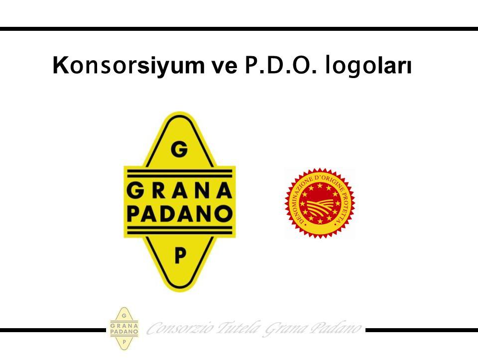 Konsorsiyum ve P.D.O. logoları