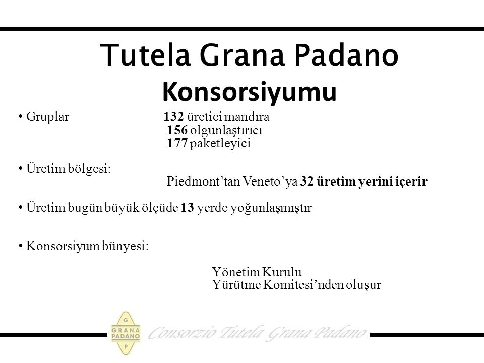 Tutela Grana Padano Konsorsiyumu