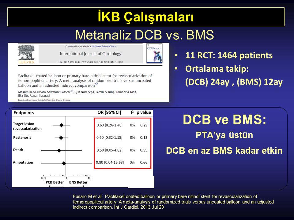 DCB en az BMS kadar etkin