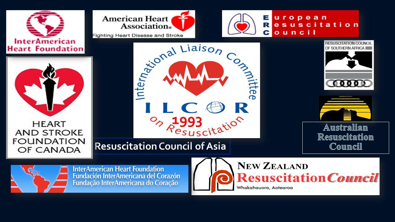 Australian Resuscitation Council 1993 Resuscitation Council of Asia