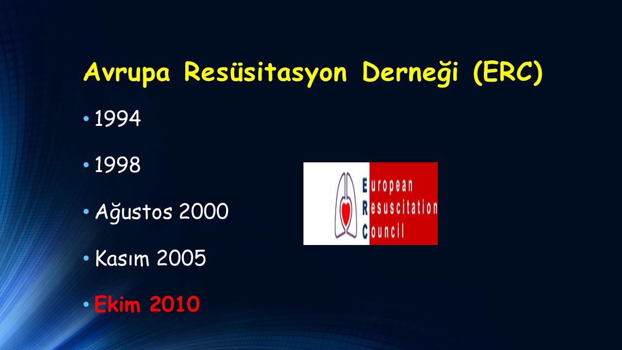 Avrupa Resüsitasyon Derneği (ERC)