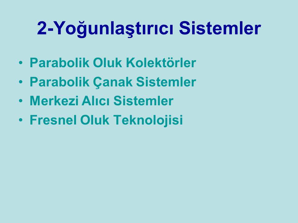 2-Yoğunlaştırıcı Sistemler
