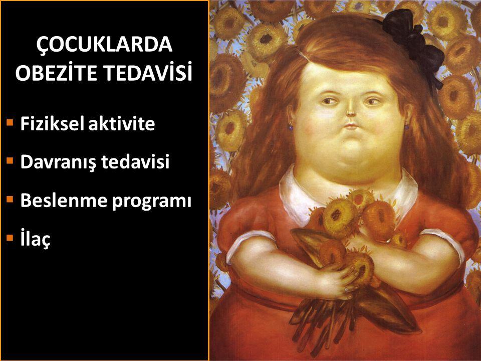 ÇOCUKLARDA OBEZİTE TEDAVİSİ