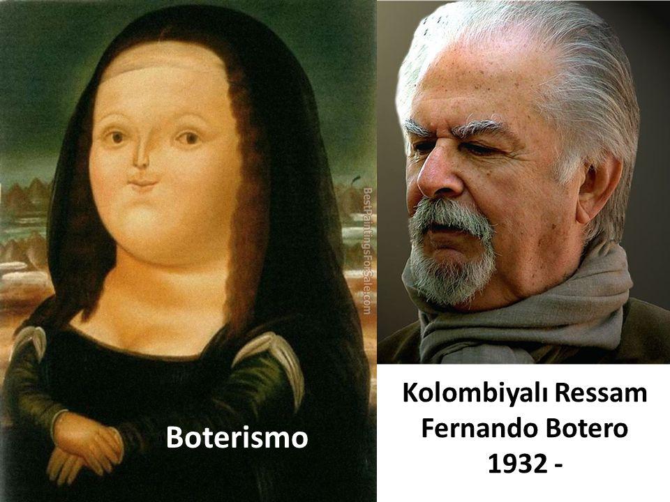 Kolombiyalı Ressam Fernando Botero