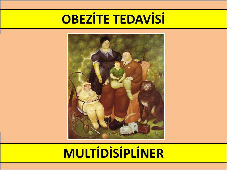 OBEZİTE TEDAVİSİ MULTİDİSİPLİNER
