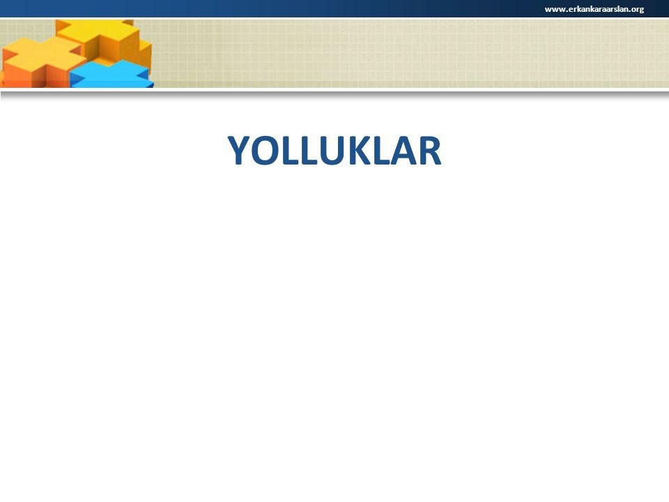 www.erkankaraarslan.org YOLLUKLAR
