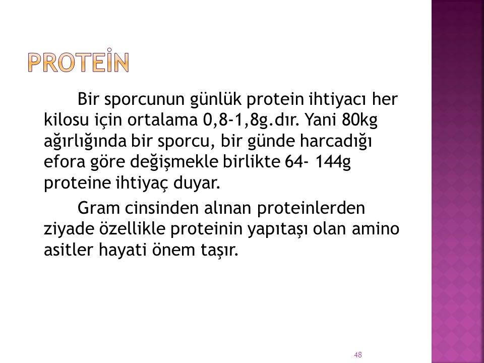 Proteİn