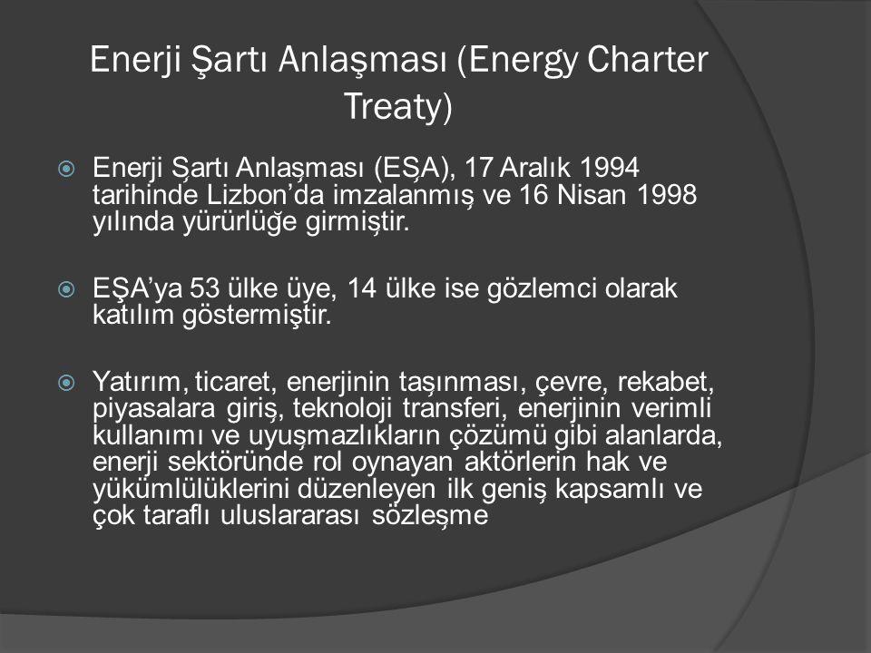 Enerji Şartı Anlaşması (Energy Charter Treaty)