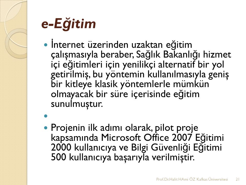 e-Eğitim