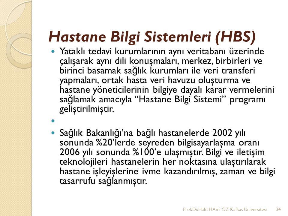 Hastane Bilgi Sistemleri (HBS)