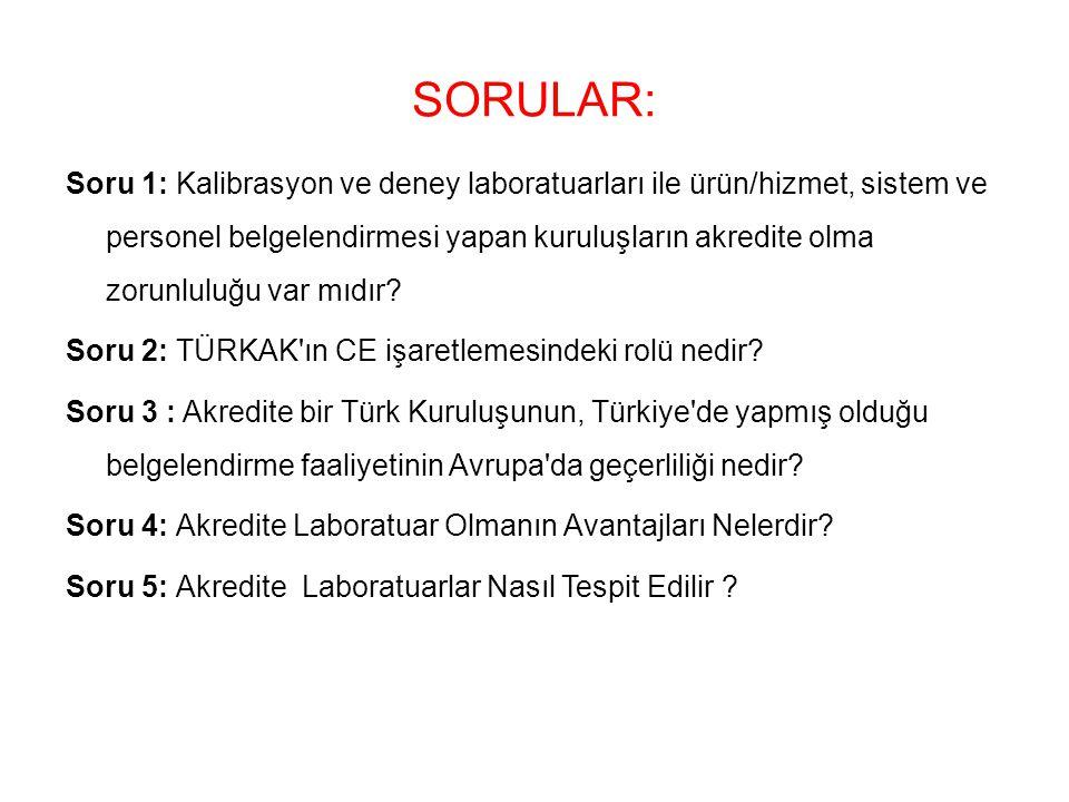 SORULAR: