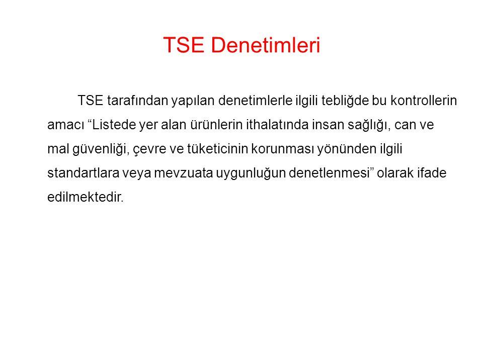 TSE Denetimleri