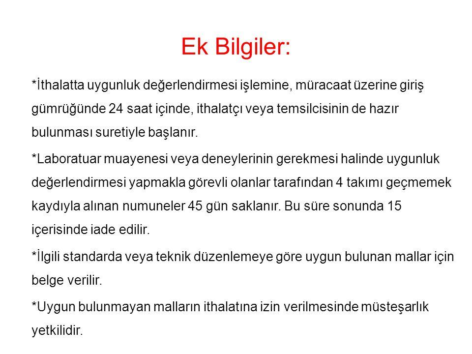 Ek Bilgiler: