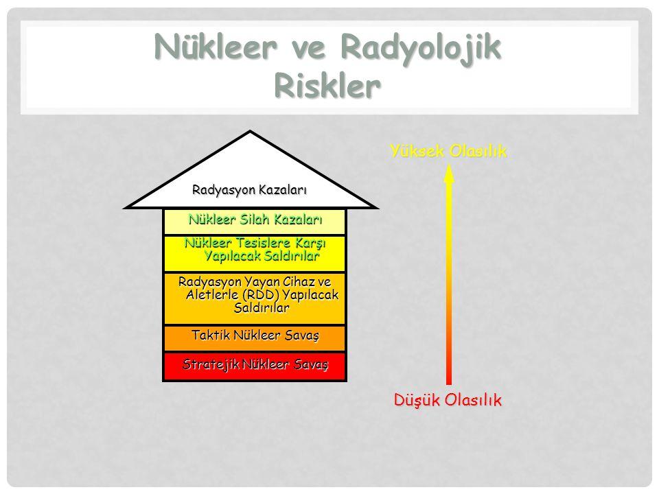 Nükleer ve Radyolojik Riskler