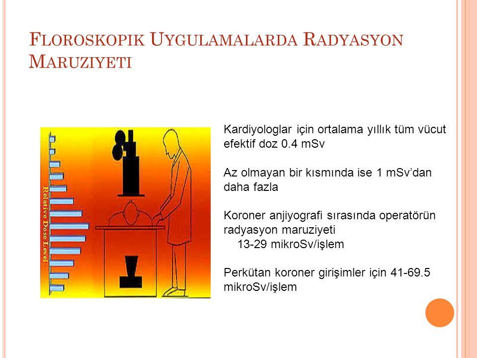 Floroskopik Uygulamalarda Radyasyon Maruziyeti
