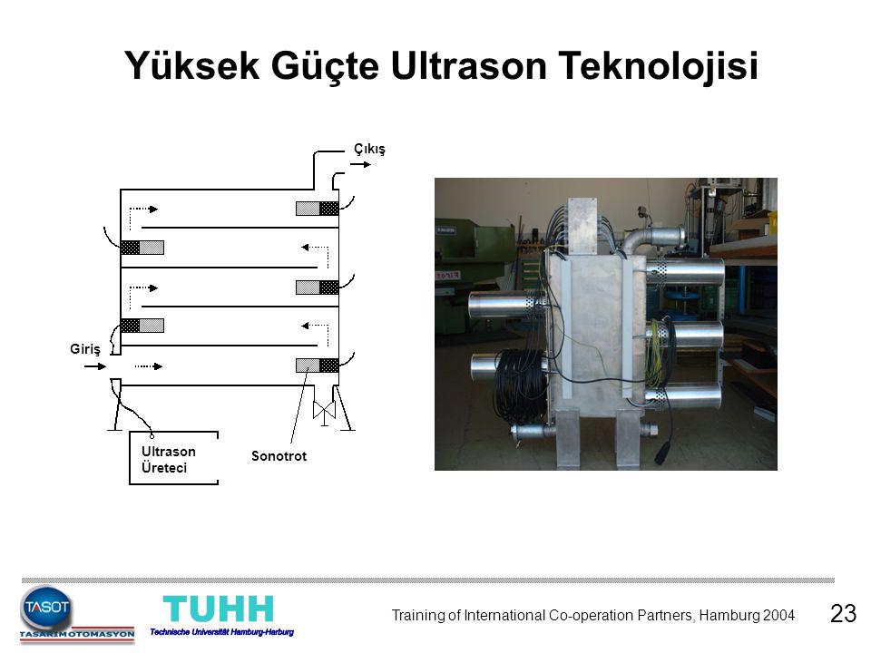 Yüksek Güçte Ultrason Teknolojisi