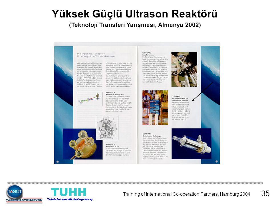 Yüksek Güçlü Ultrason Reaktörü