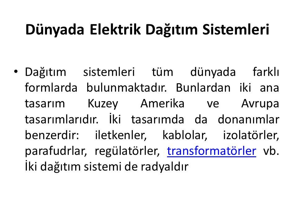 Dünyada Elektrik Dağıtım Sistemleri