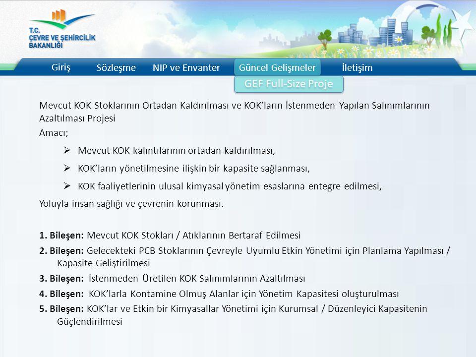 GEF Full-Size Proje Giriş Sözleşme NIP ve Envanter Güncel Gelişmeler