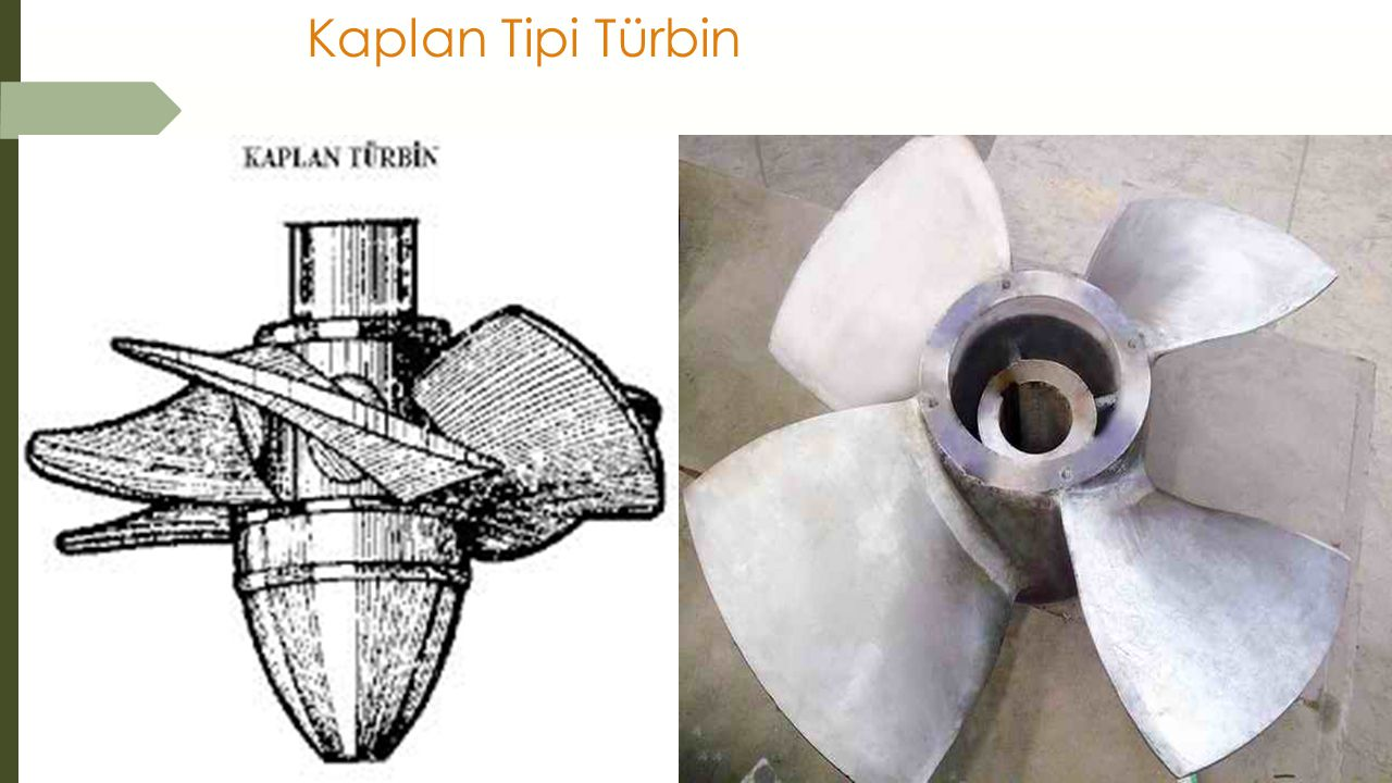 Kaplan Tipi Türbin