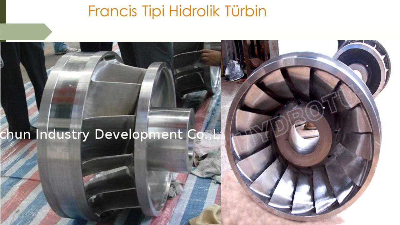 Francis Tipi Hidrolik Türbin