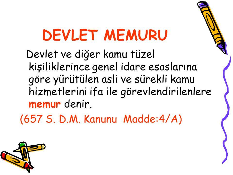 DEVLET MEMURU