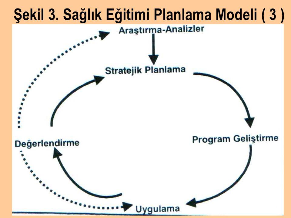 Şekil 3. Sağlık Eğitimi Planlama Modeli ( 3 )