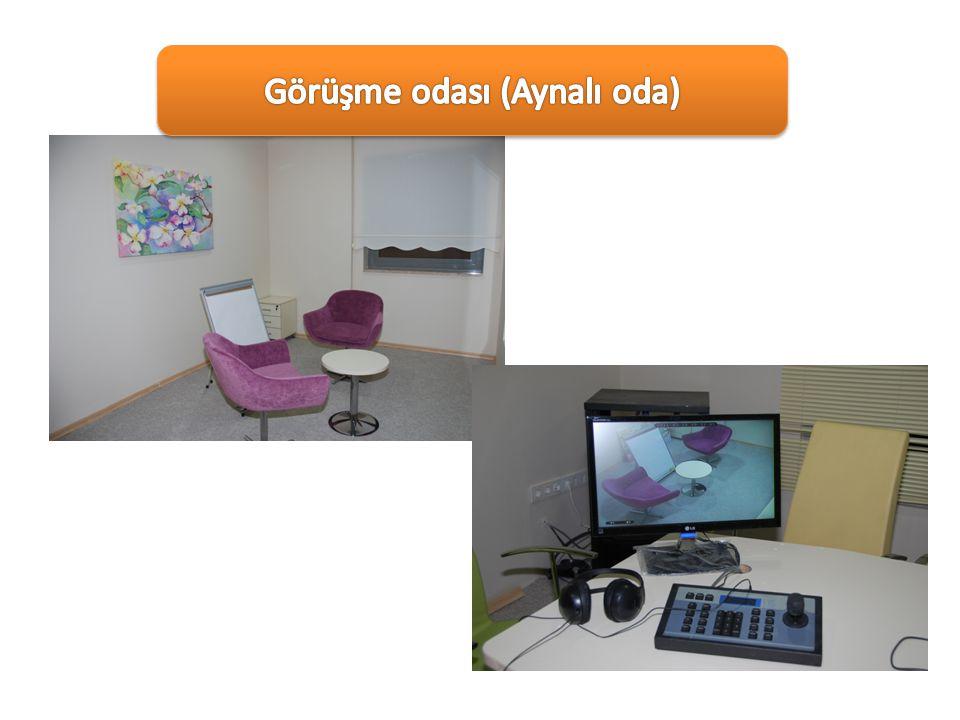 Görüşme odası (Aynalı oda)