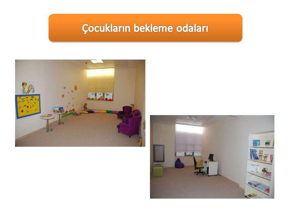 Çocukların bekleme odaları